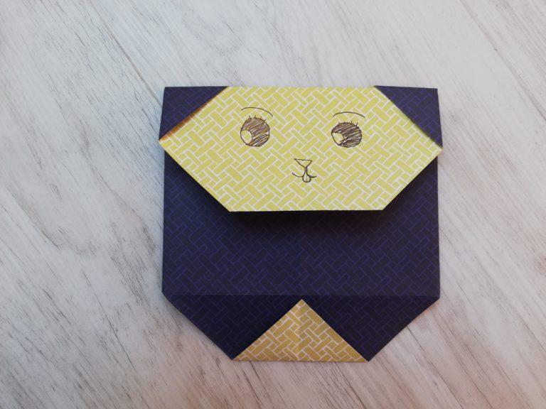 origami facile panda