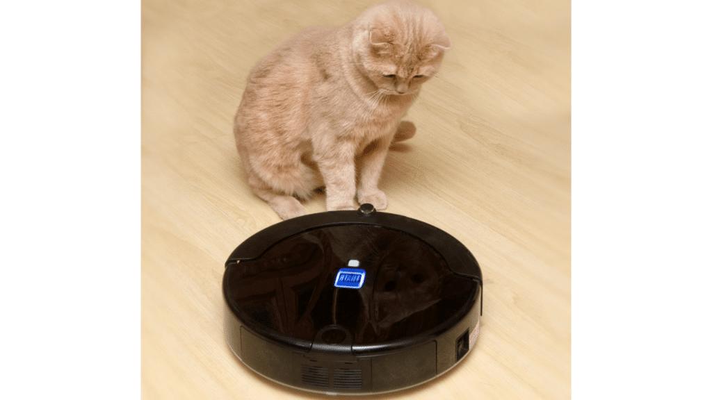 robot aspirateur laveur pour poils d'animaux