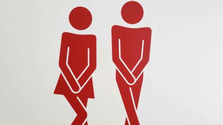 image ne pas se laver les mains aux WC
