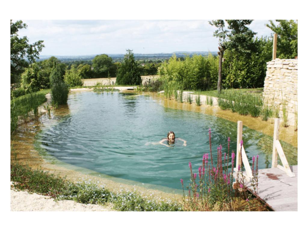 réalisation d'une piscine naturelle